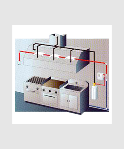 Sistemas extinci n campanas de cocina segurifoc girona for Material cocina industrial
